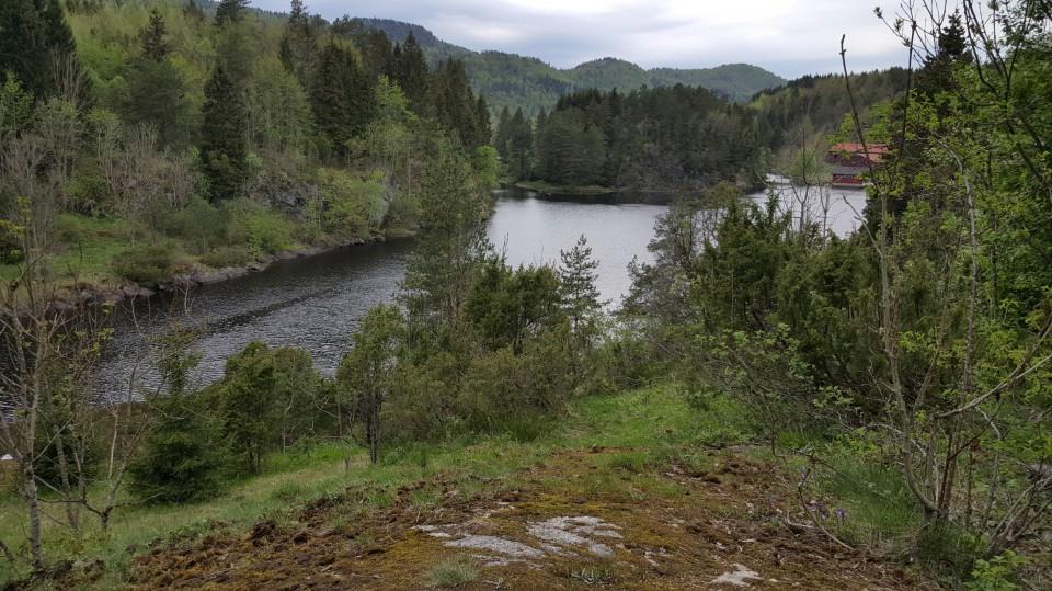 Utsikt fra Trulen